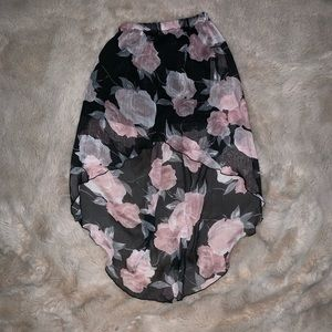 Dresses & Skirts - High- low Floral Skirt